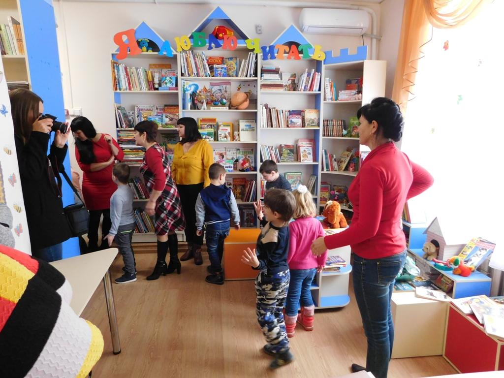 знакомство с библиотекой для детского сада